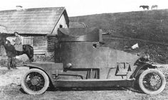 Lanchester, Designed to support air bases and retrieve downed pilots, the Lanchester was the most numerous armored car in service after the Rolls-Royce. When the army took control of the armored car forces in 1915, it was decided to phase this unit out. Remaining units were sent to Russia - along with their naval crews. There they served with distinction in Galicia, Romania, and Persia. Considered reliable and fast, they served as recce units before being shipped back to the England.