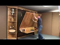 Easier-than-ever DIY Murphy Bed Hardware Kit - YouTube