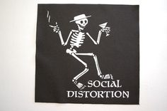 Social Distortion Backpatch (BP52) Punk Rock Back Patch Mike Ness Cramps X   | eBay
