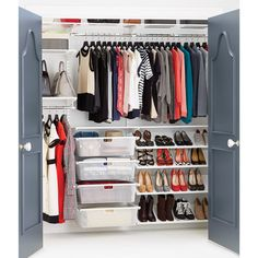 The Container Store Closet Systems Elfa Shelving System  The Container Store  Loft Apartment Space