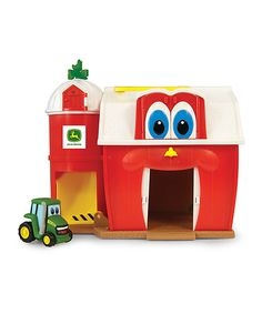 This Buddy Barn Play Set by John Deere is perfect! #zulilyfinds