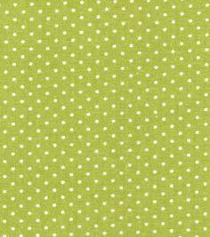 Keepsake Calico™ Cotton Fabric-Green Dot