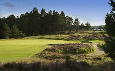73. GRANTOWN-ON-SPEY split into three distinct sections - Holes 1 to 6 are played over flat parkland, holes 7 to 12 through moderately hilly woodland, whilst holes 13 to 18 reverts to undulating parkland.