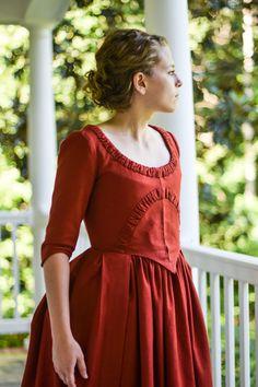 b104956568c0 American Revolution Era Day Dress