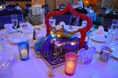 Disney Inspired Aladdin Centerpiece