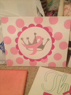 Zeta Tau Alpha Breast Cancer Awareness canvas