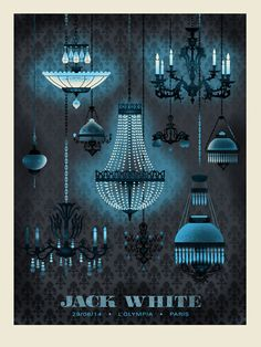 JACK WHITE MANY CHANDELIER