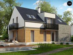 Общая площадь 182,9 м²  Проект дома Z322 это проект дома с террасой, который подойдет для проживания небольшой семьи.