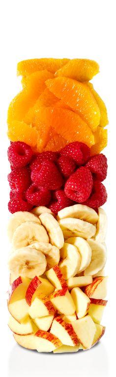 der pink (Himbeere, Banane) - PURE