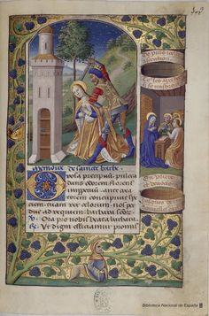 Libro de horas de Carlos VIII, Rey de Francia, Siglo XV  Libro de horas de…