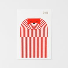 2018年 年賀状 Graphic Design Posters, Graphic Art, Designs To Draw, Cool Designs, Layout Design, Web Design, Postcard Design, New Year Card, Packaging Design