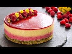 Mango Raspberry Mousse Cake is a light, elegant, flavorful dessert bursting of summer flavor. Raspberries and mango are making a heavenly match while the pis. Strawberry Mousse Cake, Mango Mousse Cake, Passion Fruit Mousse Cake Recipe, Raspberry Popsicles, Raspberry Cobbler, Raspberry Cordial, Raspberry Punch, Raspberry Cocktail, Raspberry Muffins