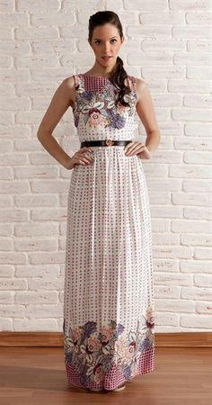 vestido com base florido - Pesquisa Google