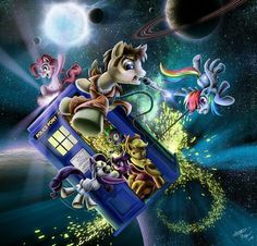 Doctor Who and MLP. AWESOME!
