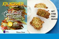 Free Chanukah Recipe Ebook - #WinnDixieKosher