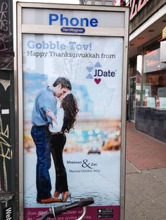 Love the holidays & the NYC billboards!