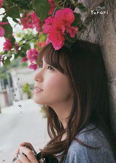 JIPX(Japan Idol Paradise X) :: SKE48 Mina Oba Yurari on Young Gangan Magazine