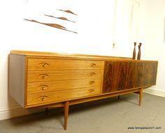 Robert Heritage Archie Shine Rosewood Hamilton Sideboard