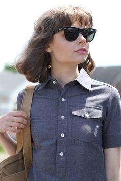 perfect shirt/perfect shades