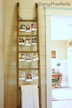Sie stellt 3 alte Leitern in ihr Wohnzimmer. Wenn du siehst wieso, willst du es selber ausprobieren. | LikeMag