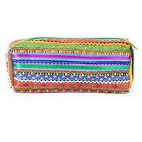 Pick & Go Handwoven Laced Vibrant Pouch