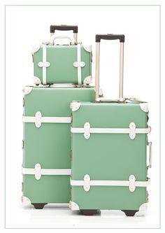 Mint Steamline Travel Luggage Set (Discount Code: IHOD10)