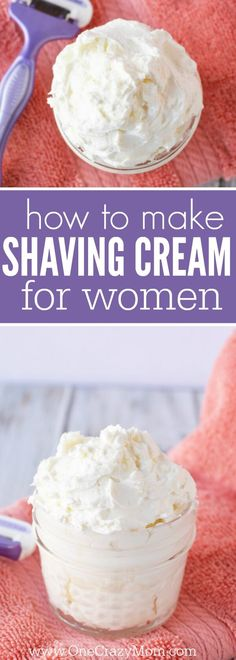 Try this diy shaving cream for Women for a closer shave.You will love how luxurious this natural shaving cream is. This easy homemade shaving cream leaves your skin silky smooth! Plus, its very simple and quick to make. The best shaving cream! Natural Shaving Cream, Homemade Shaving Cream, Homemade Skin Care, Homemade Beauty Products, Best Shaving Cream, Shaving Lotion, Body Lotion, Diy Beauté, Easy Diy