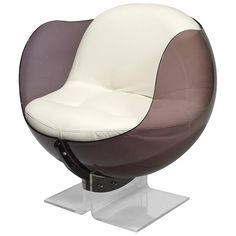 Sphere Armchair | See more antique and modern Armchairs at https://www.1stdibs.com/furniture/seating/armchairs