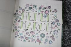 Bullet journal #2 - maart Bullet Journal 2, Bullet Journal Inspiration, Planners, Journals, Random, Blog, Drawings, Calendar, Blogging