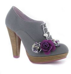 Ruby Shoo: Lana Grey. Love these but too high for me!