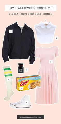 19 Easy Modest Halloween Costumes You'll Love This post contains the best modest Halloween costumes for women. The costume ideas include DIY, Disney, dresses, and fun and creative ones too. One of the costumes is Eleven from Stranger Things. Modest Halloween Costumes, Stranger Things Halloween Costume, Cool Costumes, Costumes For Women, Costume Ideas, Eleven Halloween Costume, Party Costumes, Eleven Stranger Things Costume, Stranger Things Dress