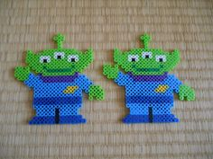 Aliens - Toy Story perler beads