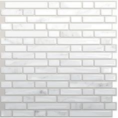 coolest thing everrrrr! stick on tiles for your backsplash