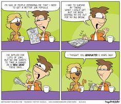 Matt Against the World No Jobs for New Grads Comic