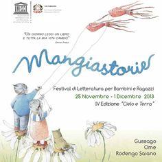 """Festival """"Mangiastorie"""": tutto pronto per l'edizione 2013, che avrà il patrocinio dell'UNESCO - http://www.gussagonews.it/festival-letteratura-mangiastorie-gussago-novembre-2013-patrocinio-unesco/"""