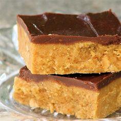 Peanut Butter Bars | Cook'n is Fun - Food Recipes, Dessert, & Dinner Ideas