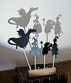 Teatro de sombras !!! Os pequeninos amam !!!