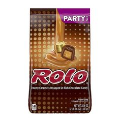 Amazon.com : ROLO Chocolate Caramel Candy with Milk Chocolate, Easter Candy Party Bag, Great as Easter Basket and Egg Stuffers, 35.6 Oz : Grocery & Gourmet Food Rolo Chocolate, Chocolate Rocks, Mint Chocolate Chip Cookies, Chocolate Truffles, Rolo Cookies, Edible Cookies, Cream And Fudge, Caramel Candy, Candy Party