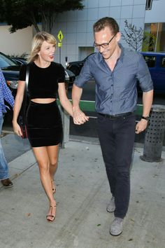 Tom Hiddleston steps out with Taylor Swift wearing the J BRAND Tyler Slim Fit in Tavern. Taylor Swift Outfits, Taylor Swift Facts, Taylor Swift Style, Taylor Alison Swift, Taylor Swift Gallery, Taylor Swift Pictures, Celebrity News, Celebrity Style, Calvin Harris