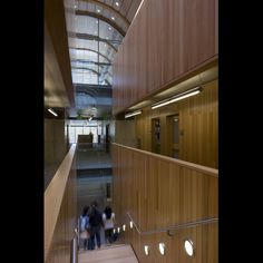 "<b>Project:</b> Kroon Hall, Yale University<p></p><b>Location:</b> New Haven, Connecticut<p></p><b>View:</b> Stairs<p></p><b>Architect:</b> <a href=""http://www.hopkins.co.uk/"">Hopkins Architects</a> and <a href=""http://www.centerbrook.com/"">Centerbrook Ar"