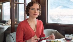 Alexandra Byrne designs the costumes for the new film adaptation of Agatha Christie's Murder on the Orient Express