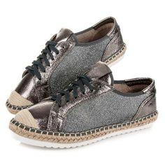 Látkové topánky espadrilky HSYFA11GUN