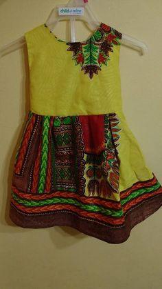 Dashiki Dress  Girls  children dress baby dress toddler