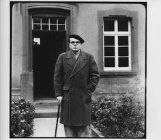 The German author Arno Schmidt. helper.asp 2,374×2,066 pixels