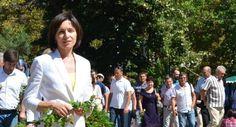 Maia Sandu, un prim /pas/ spre unirea Republicii Moldova cu România