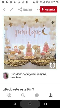 Baby Shower Themes, Baby Shower Decorations, Shower Ideas, Baby Girl 1st Birthday, 3rd Birthday, Babyshower, Star Baby Showers, Twinkle Twinkle Little Star, Baby Party