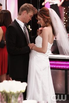 Lucas and peyton wedding