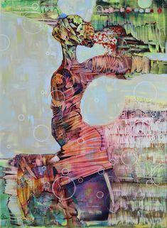 """""""Kair"""" obraz oryginalny, dostępna tylko jedna sztuka. Autor: Maciej Durski Technika: olej Rok 2017 ENG """"Kair"""" original painting, only one piece available. Author: Maciej Durski Technique: oil Year 2017"""