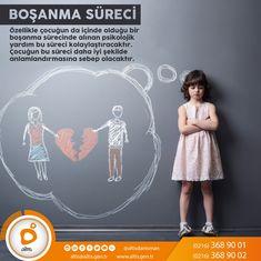 Türkiye'de boşanmaları engelleyen en önemli unsur çocuktur.  Çocuksuz ailelerin boşanma oranı çocuklu ailelere oranla daha fazladır. Bunun sebebi de ailelerin çocukların iç dünyalarının kötü etkilenmesinden korkarak mutsuz evliliklerini devam ettirmeleridir. Böyle bir evlilik çocuğun iç dünyasını daha kötü etkilemektedir. Eşler birbirinden boşanabilir fakat çocuklarından boşanamazlar. Makalenin devamını okuyabilmek için; http://www.altis.gen.tr/Blog/Makale/bosanma-sureci-hakkinda