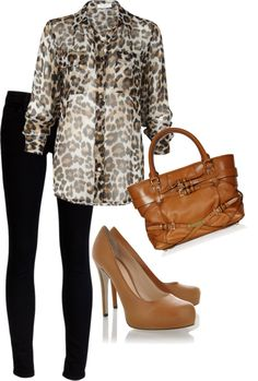 Chic animal print outfits - Page 6 Look Legging, Style Me, Cool Style, Top Mode, Look 2015, Style Personnel, Animal Print Outfits, Animal Prints, Look Fashion
